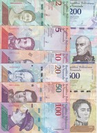 SERIE COMPLETA DE 8 BILLETES DE VENEZUELA 2-5-10-20-50-100-200 Y 500 DEL AÑO 2018 EN CALIDAD EBC (XF) - Venezuela