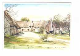 56 Poul Fetan Village Breton Gite Etape Auberge Dessin Roland Chetelat - Frankrijk