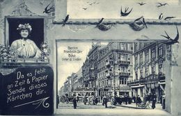 BERLIN, Friedrichstrasse Ecke Unter D. Linden (1910) AK - Germany