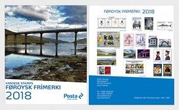 Faroer  Faroyar  2018  JAARCOLLECTIE    Postfris/mnh/neuf - Faeroër