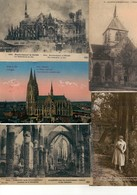 Lot De 10 CPA Avec Cachets Trésor Et Postes Période WW1 - Cartes Postales