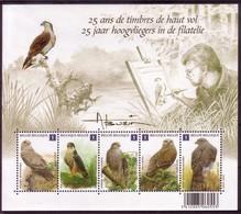 BE 2010 -  BL 182 XX  Ou N° 4030/34 XX Timbres Extrait Du Bloc - 1985-.. Vögel (Buzin)