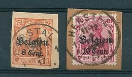 BZ/OC 13/14 Gestempeld HERSTAL - Guerre 14-18