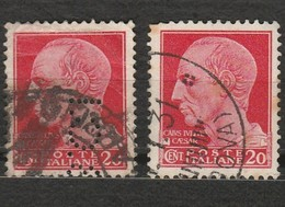 Italie - 1 Timbre Caius César - Jules César - Année 1929 -  Mi IT 303 X Dont Un Perforé B.C.I - Italien
