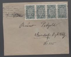 Deutsches Reich Infla Brief 1923 Nach Gersdorf MEF 256 Lot 551D - Deutschland