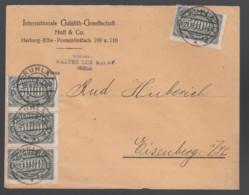 Deutsches Reich Infla Firmen-Brief 1923 Ruhla Nach Eisenberg MEF 256 Lot 553D - Deutschland