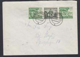 Deutsches Reich Orts-Brief 1940 Berlin-Steglitz Zusammendruck ZD W139 Lot 565D - Zusammendrucke