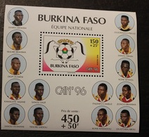 BURKINA FASO BLOC N° 59    FOOT CAN 96,  NEUF - Burkina Faso (1984-...)