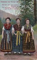 AK Schönheiten Des Thüringer Waldes - Frauen In Tracht - Thüringen  (39261) - Europe