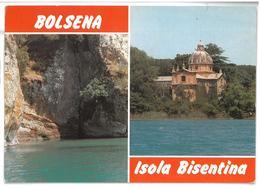 Lazio Bolsena Isola Bisentina 2 Vedute Non Viaggiata Condizioni Come Da Scansione - Italië