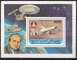 Republic Federale Islamique Des Comores 1981 Space, Jumbo, Bloc 227, MNH(**) - Space