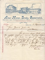** DOCUMENTO COMMERCIALE.-(BRODY).-1906.-** - Autriche