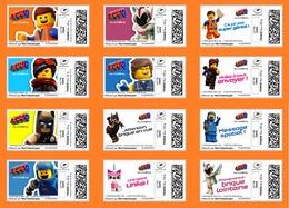 France 2019 TimbrEnLigne La Grande Aventure LEGO 2 Au Cinéma - Jeux Jouet Bricks Kids Games Toys 12v MNH / Neuf - France