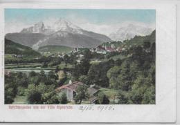 AK 0153  Berchtesgaden Von Der Villa Alpenruhe - Verlag Lehrburger Um 1910 - Berchtesgaden