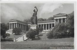 AK 0153  München - Bavaria Mit Ruhmeshalle / Feldpost Um 1939 - München