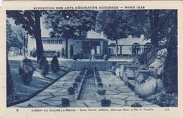 Exposition Des Arts Décoratifs Modernes, Paris 1925, Jardin Au Cours La Reine (pk56078) - Exposiciones