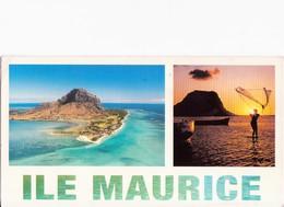 """CARTOLINA ILE MAURICE - MAURITIUS - 2007 - """"LE MORNE"""" - POSTCARD WITH STAMP - Mauritius"""