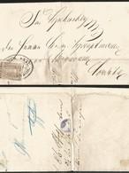 J) 1866 MEXICO, EMPEROR MAXIMILLIAN, OVAL CANCELLATION, ADMON GRAL DE CORREOS, RARE NICE REFERENCE, TO ORIZAVA - Mexico