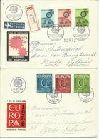 1966-69 4 Different FDC With Pairs Or Complete Sets - Sent As  Letters To Breda, Holland Europa - Europe - FDC