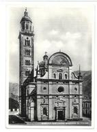 Lombardia Basilica Santuario Madonna Di Tirano Viaggiata 1957 Condizioni Come Da Scansione - Altre Città