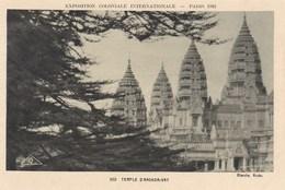 Paris 1931, Exposition Coloniale Internationale, Temple D'Angkor Vat (pk56083) - Exposiciones