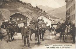 La Poste Suisse à La Montagne - Die Schweiz. Post In Den Bergen (4430) - VD Vaud