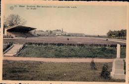 Diest Stadium Het Monument Der Gesneuvelde Voetb. Le Stade - Diest