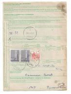 CUSTOMS DECLARATION Munchen Germany To Yugoslavia Debar 1983 - Yougoslavie