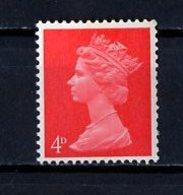 Grande Bretagne - Great Britain - Großbritannien 1967-70 Y&T N°476 - Michel N°496 *** - 4p Reine Elisabeth II - 1952-.... (Elizabeth II)