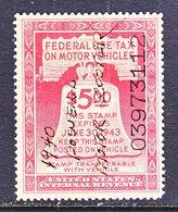 U.S.  RV 6  **  1940  POWELL  MOTOR  SCOOTER - Revenues