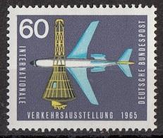 Germania 1965 Sc. 924 Jet Plane And Space Capsule -nuovo  MNH - Germany - Telecom