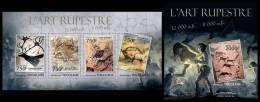 TOGO 2013 - Cave Art - YT 3052-5 + BF623; CV=30 € - Prehistory