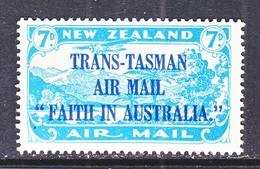 NEW  ZEALAND C 5  *  TRANS-TASMAN - Airmail