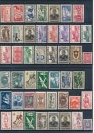 COLONIES FRANCAISES - BELLE COLLECTION DE 273 TIMBRES NEUFS** SANS CHARNIERE - VOIR SCANNS RECTO VERSO - France (ex-colonies & Protectorats)