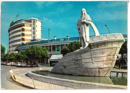 Veneto Abano Terme (Padova) Monumento A Cristoforo Colombo Ed Hotel Ambassador Viaggiata 1982 Condizioni Come Da Scansio - Italia