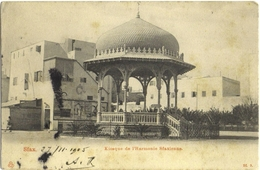 CPA DE SFAX  (TUNISIE)  KIOSQUE DE L'HARMONIE SFAXIENNE - Tunisie