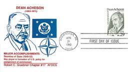 USA - FDC - 1993  WASHINGTON - DEAN ACHESON - Ersttagsbelege (FDC)