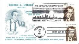 USA - FDC - 1994   PULLMAN - EDWARD  MURROW - Ersttagsbelege (FDC)