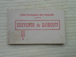 Carnet 20 Cpa Djibouti Côte De Somalis Afrique - Dschibuti