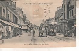 02DB01Q19 CPA 02 - 19. SAINT QUENTIN   LA RUE D ISLE    V 1909 - Saint Quentin
