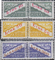 San Marino PA42-PA44 (complete Issue) Unmounted Mint / Never Hinged 1965 Package Marks - San Marino
