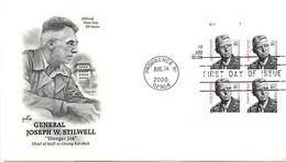 USA - FDC - 2000 - PROVIDENCE -   JOSEPH W. STILWELL - Ersttagsbelege (FDC)