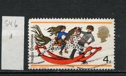 Grande Bretagne - Great Britain - Großbritannien 1968 Y&T N°546 - Michel N°493 (o) - 4p Noël - 1952-.... (Elizabeth II)