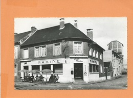 CPSM  - Ham  - Café De La Marine - Ham