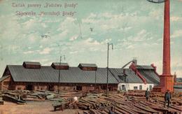 TARTAK PAROWY PANSTWA BRODY / SÄGEWERKE HERRSCHAFT BRODY / TRAVAIL Du BOIS / TIMBER WORKING ~ 1905 - '10 - RRR ! (aa412) - Ukraine
