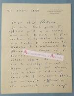 L.A.S 1932 Maurice BEDEL Romancier Journaliste - Prix Goncourt - Mariage - Brisson La Genauraye Thuré Lettre Autographe - Autographes