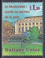 UNO ONU Genf Geneva 1999 Organisationen Architektur Bauwerke Buildings Palais Dag-Hammarskjöld-Medaille, Mi. 380 ** - Office De Genève