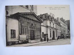 CPA 75 PARIS Chapelle Des Lazaristes Rue De Sèvres   TBE - France