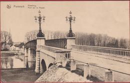 Maaseik Maeseyck Maasbrug Pont Sur La Meuse (kreukjes) - Maaseik