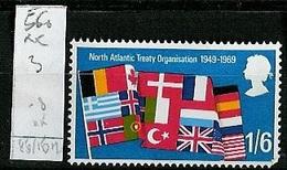 Grande Bretagne - Great Britain - Großbritannien 1969 Y&T N°560 - Michel N°514 *** - 1/6 OTAN - 1952-.... (Elizabeth II)